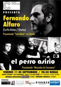Fernando Alfaro y El Perro Asirio actúan en Las Cigarreras en MÚSICA