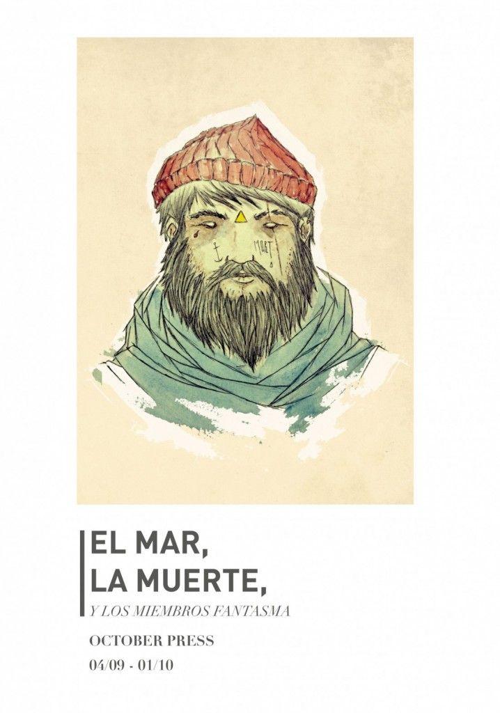 'El mar, la muerte y los miembros fantasma' de Adrià Suñé tiñen The October Press en ILUSTRACIÓN