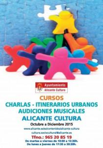 La Concejalía de Cultura ofrece 2.419 plazas en su programa formativo  en CONFERENCIAS