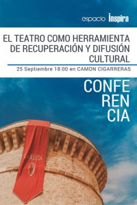 Conferencia sobre el teatro como herramienta de difusión cultural en CONFERENCIAS ESCENA