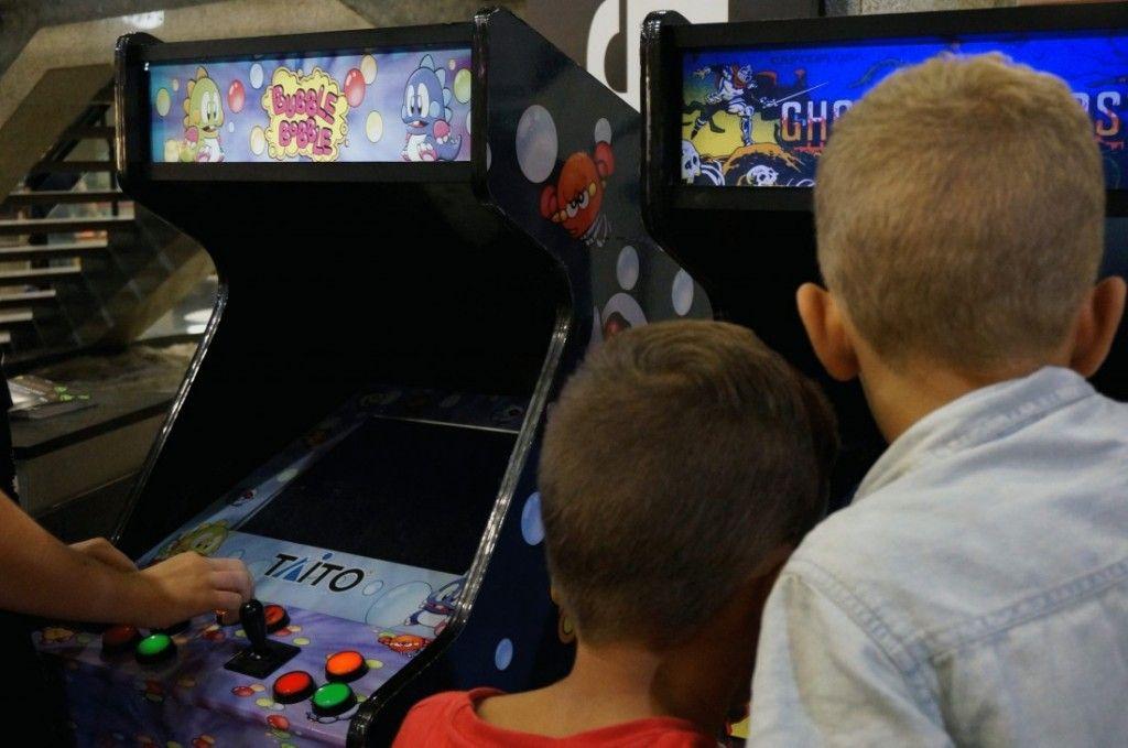 Arcade Vintage, un viaje a los recreativos de los años 80 en JUEGOS