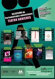 Cortos valencianos en el Teatre Arniches en CINE
