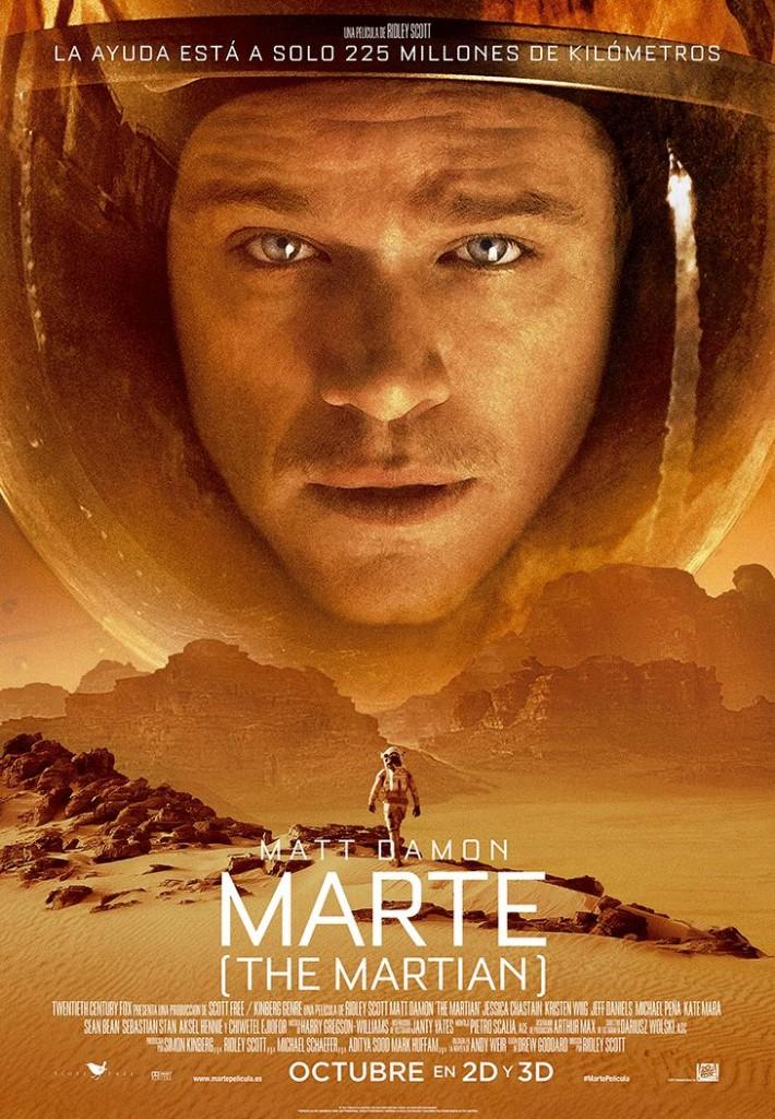 'Marte', oda a la nueva santísima trinidad: ciencia, tecnología y sobredimensionado afán de superacion en CINE
