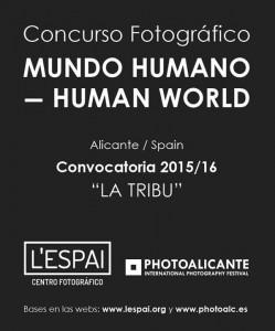 De Alicante para el mundo, 'Concurso de fotografía Mundo Humano-Human World' en ARTE FOTOGRAFIA