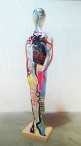 Xavi García: Algo más que una pose en ARTE ESCULTURA PINTURA