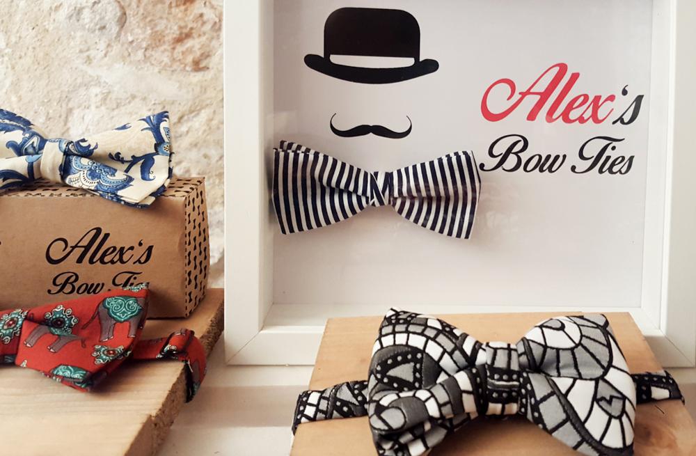 Alejandro Candela Valle pone de moda en Alicante los Bow Ties en MODA