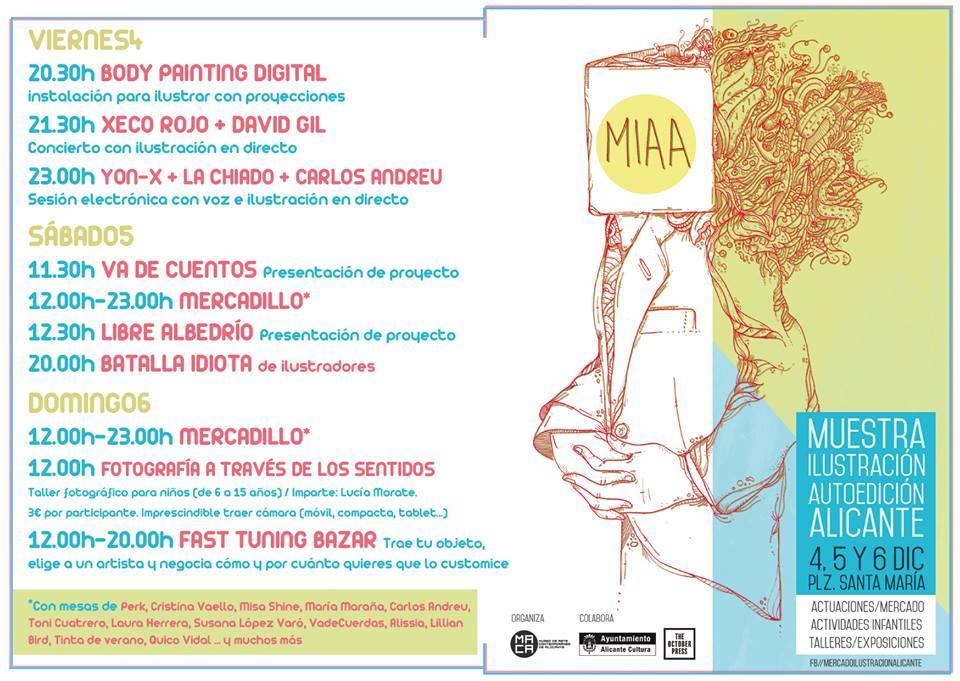 Vuelve la Muestra de Ilustración y Autoedición de Alicante en ILUSTRACIÓN