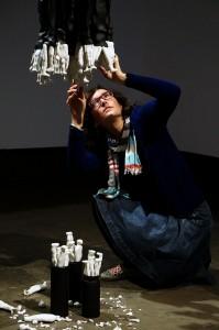 Ascensión González interpreta la interacción del ser humano con su entorno en La Lonja en ARTE