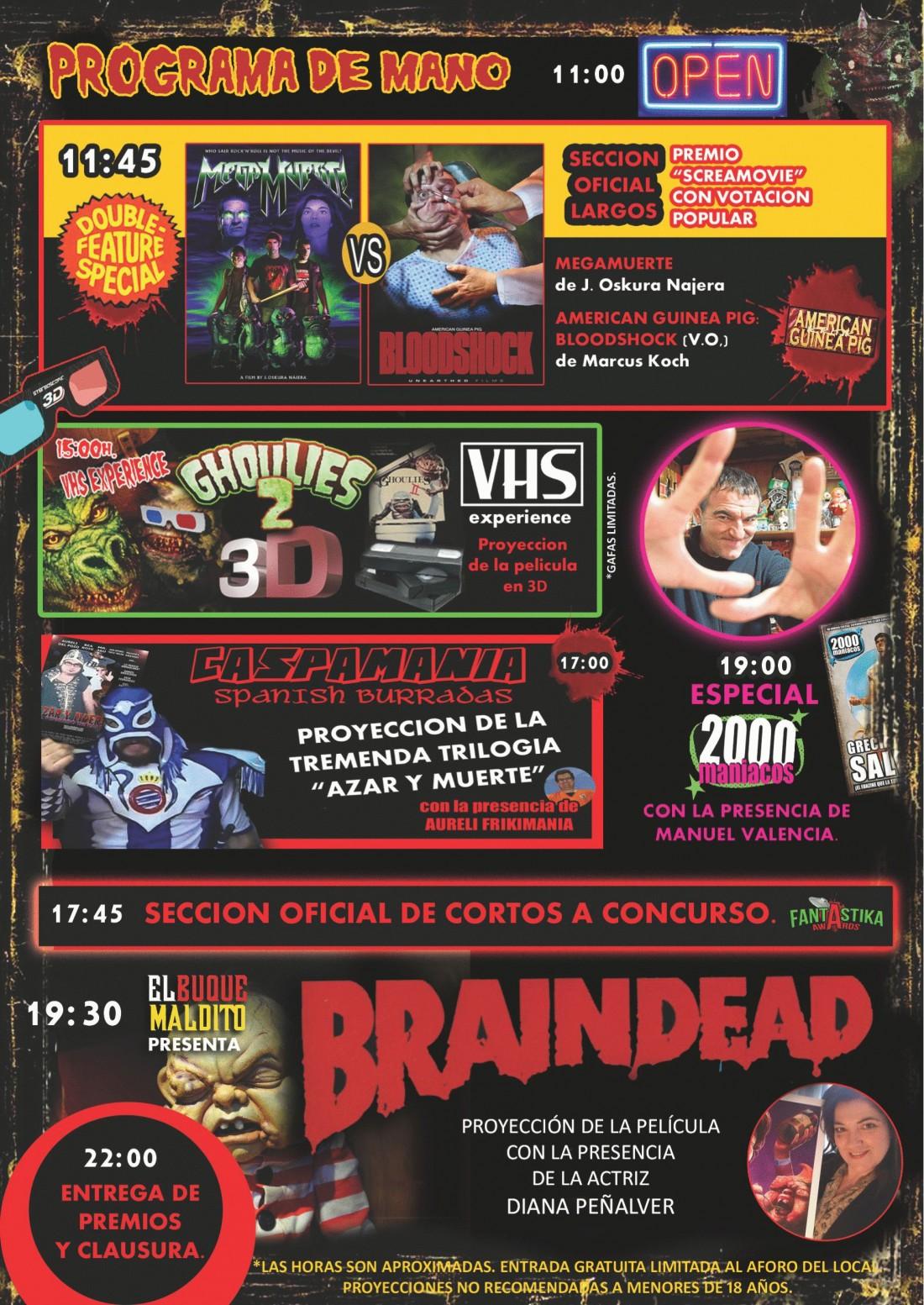 'Navidades sangrientas', el Freaks acoge el XIII festival de cine de terror y gore en CINE