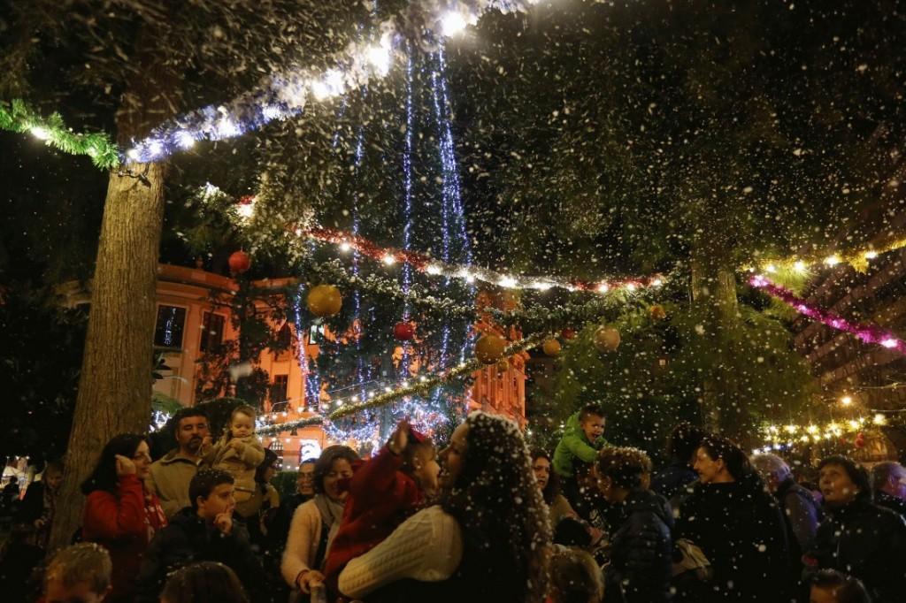 La Navidad llena de magia el Palacio Provincial en AIRE LIBRE