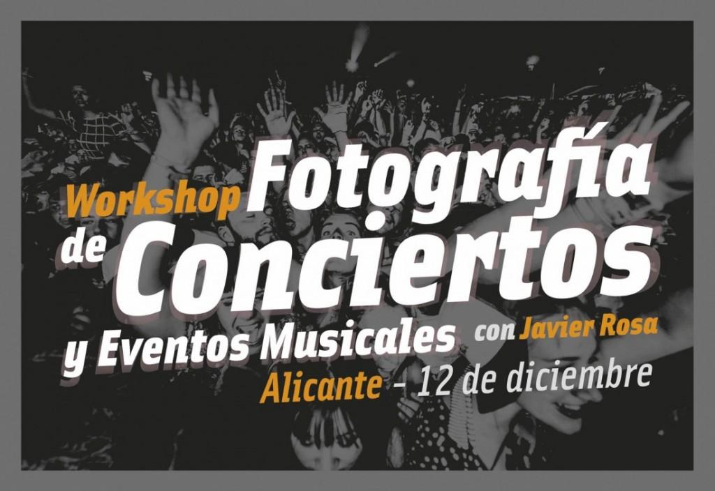 'Daltónico', fin de semana de inmersión en fotografía de conciertos con Javier Rosa en FOTOGRAFIA MÚSICA