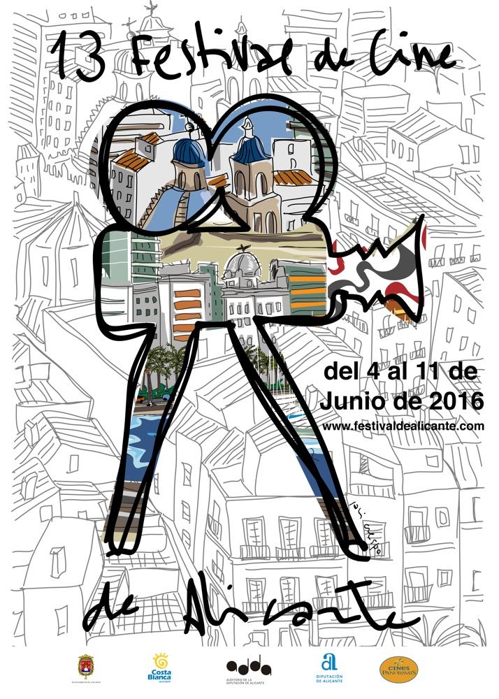 La presentación del cartel marca el arranque del XIII Festival de Cine de Alicante en CINE