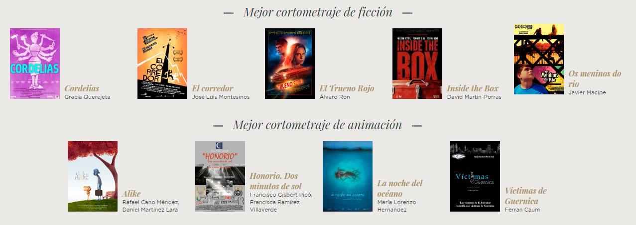 El Festival de Cine trae a los Cines Panoramis los cortos nominados a los Goya 2016 en CINE