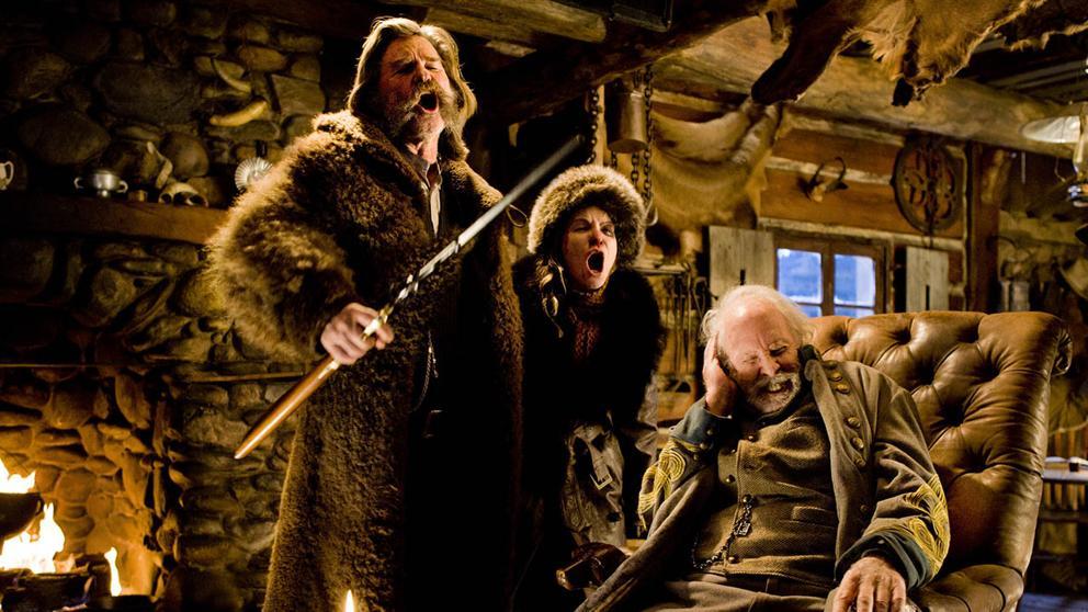 Con 'Los odiosos ocho', Tarantino mantiene el tipo en CINE