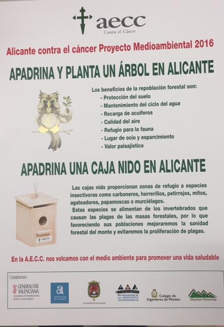 Día del Árbol: Aguas de Alicante inicia una campaña de repoblación forestal en MEDIO AMBIENTE