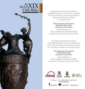 El MUBAG exhibe una selección de obras de Mariano Benlliure en ESCULTURA