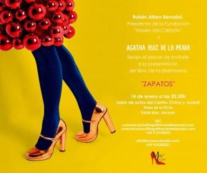 Elda acoge la presentación de 'ZAPATOS', de Agatha Ruiz de la Prada en ESTILO DE VIDA LETRAS MODA