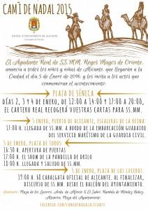 Alicante se prepara para la llegada de los Reyes Magos en AIRE LIBRE