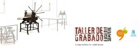 El Gil-Albert organiza un taller de serigrafía con el Mediterráneo como eje central en PINTURA