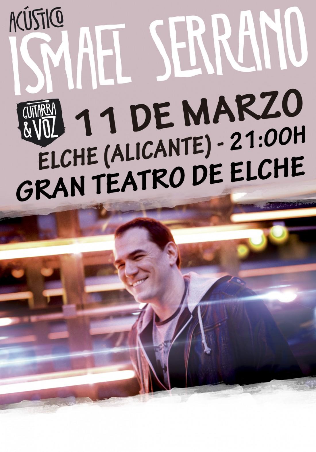 Ismael Serrano presenta su último disco en Elche en MÚSICA