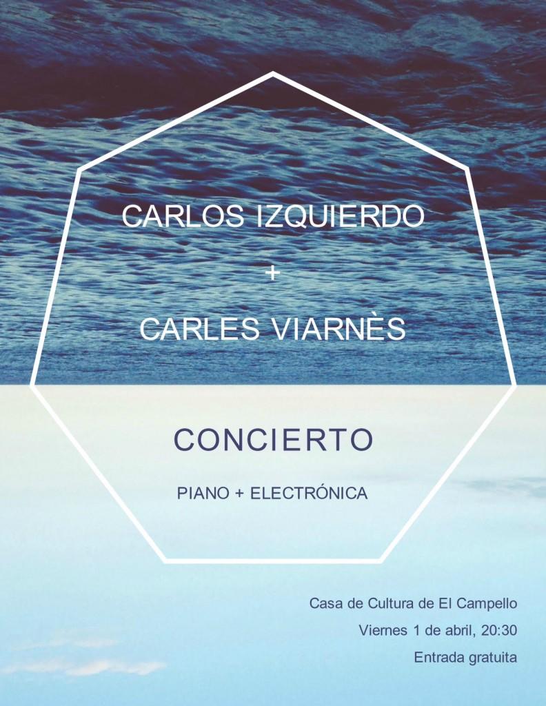 Las composiciones serenas de Carlos Izquierdo y Carles Viarnès se unen en El Campello en MÚSICA