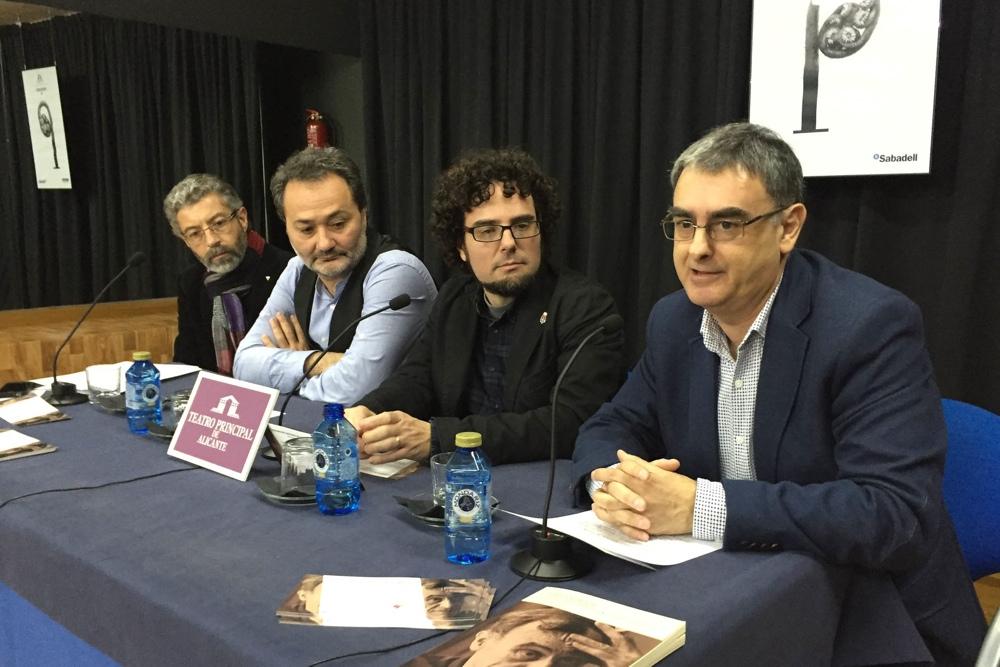 El Gil-Albert recupera la figura del director teatral alicantino José Estruch en CONFERENCIAS ESCENA