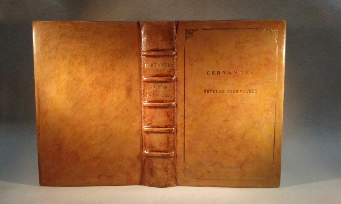 Charla-Exposición Encuadernando a Cervantes en ARTESANIA LETRAS