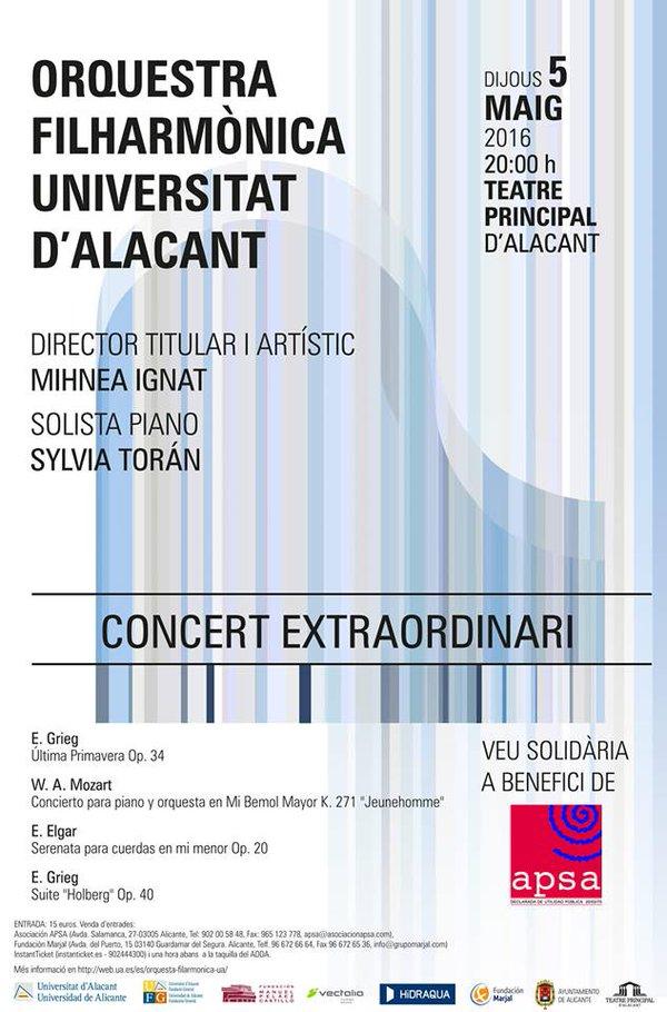 La OFUA celebra su X Aniversario con un concierto en el Teatro Principal en MÚSICA