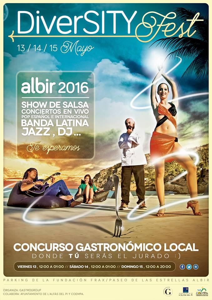 Gastronomía, música y ocio se dan cita en el Diversity Fest Albir en GASTRONOMÍA