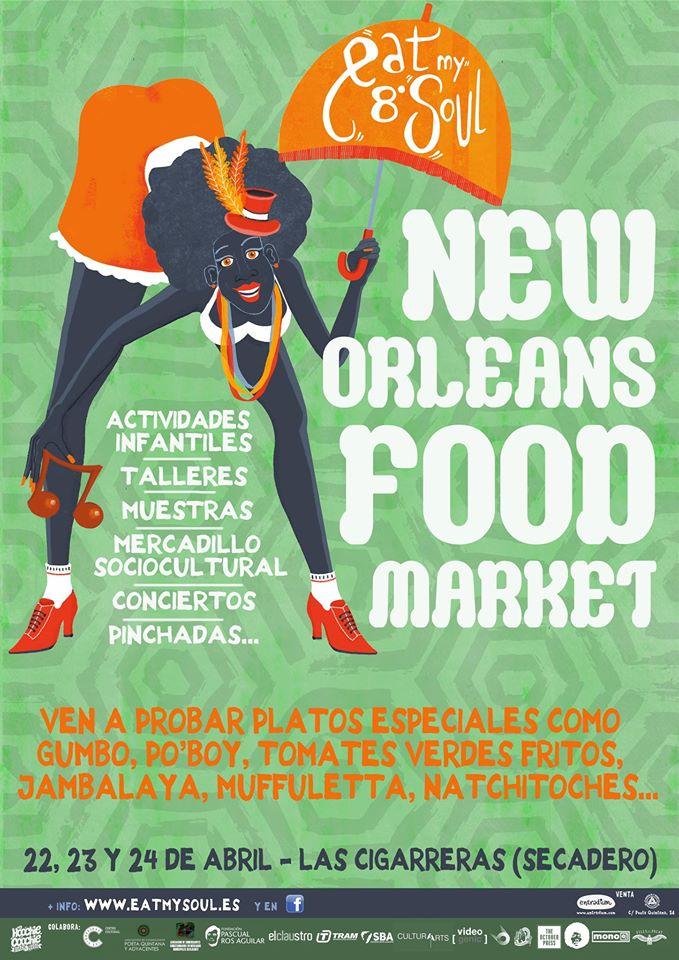 Eat my Soul lanza la 1ª Feria Gastromusical dedicada a Nueva Orleans en GASTRONOMÍA