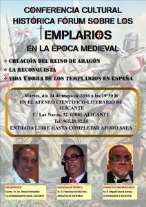 Miguel Gracia hablará sobre 'Los templarios y las vírgenes negras' en el Ateneo en CONFERENCIAS