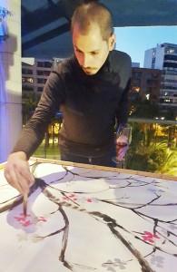 Jóvenes artistas emergentes en Colorful III en MODA