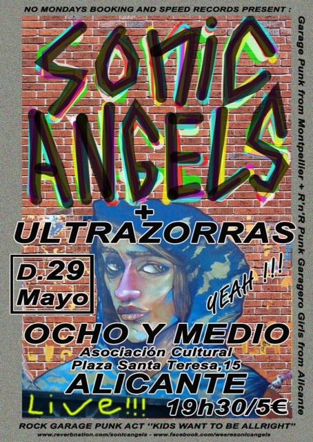El garaje punk rock de Ultrazorras recala en Ocho y Medio en MÚSICA