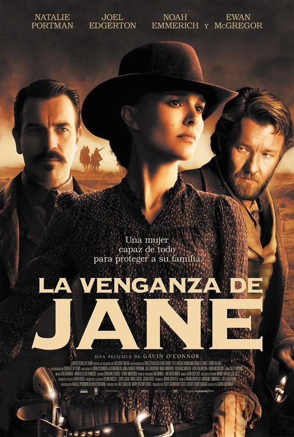 'La venganza de Jane', las maniobras de confusion del poder en clave de western minimalista en CINE