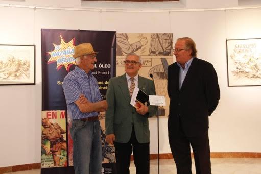 El Palacio Provincial recoge la trayectoria de Rossend Franch en CÓMIC PINTURA