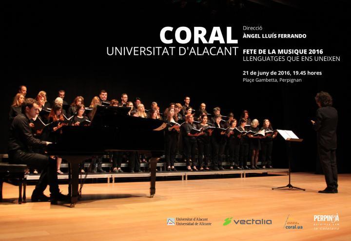 La UA presenta su Coral Académica y el programa de conciertos de verano en MÚSICA
