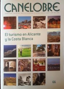 La revista Canelobre dedica número especial al turismo alicantino en ARTE