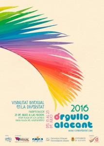 Orgullo Alacant 2016, una apuesta por la visibilidad de la Diversitat en ESTILO DE VIDA