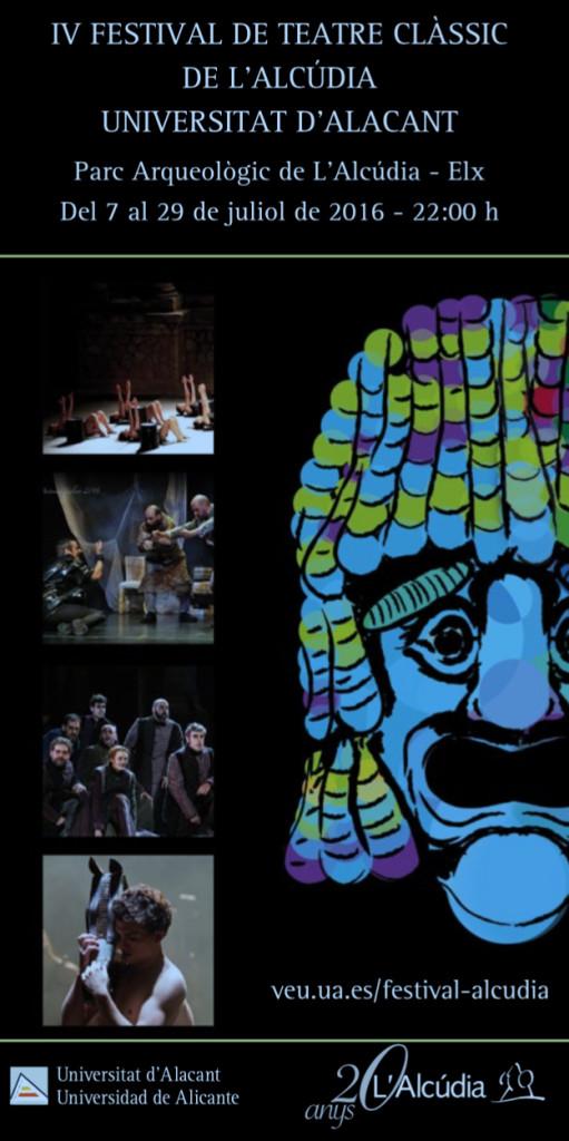 Comienza el IV Festival de Teatro Clásico de L'Alcúdia-UA en ESCENA
