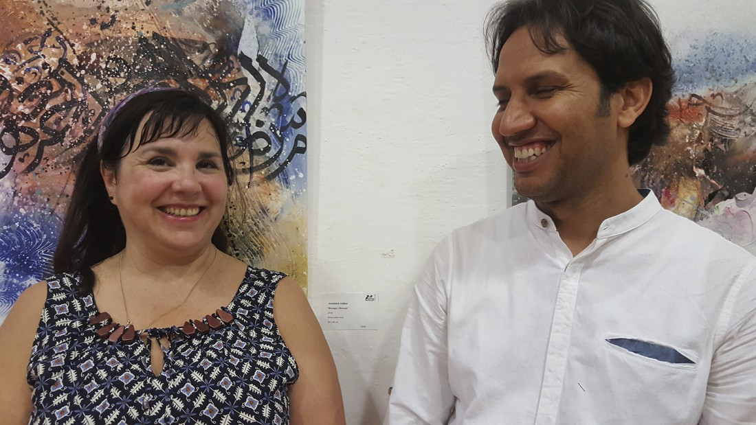 Encuentro artístico internacional en Alicante y exposición de Nourdine Tabbai en Freaks Arts Gallery en ARTE PINTURA