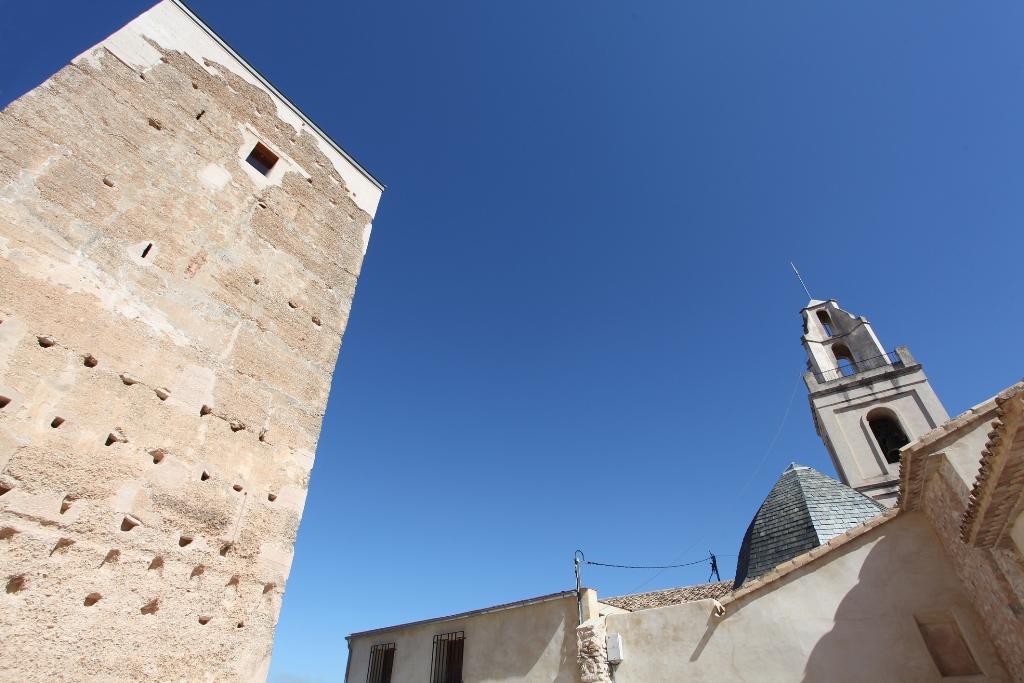 Jornada de puertas abiertas en la Torre almohade de Almudaina en ARQUEOLOGÍA