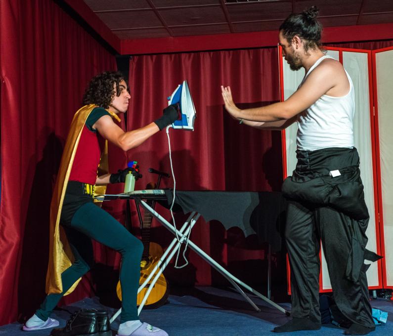El Café Garbí acoge un divertido espectáculo de microteatro en ESCENA