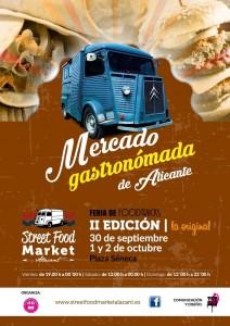 La mejor gastronomía nómada vuelve a la alicantina Plaza de Séneca en GASTRONOMÍA