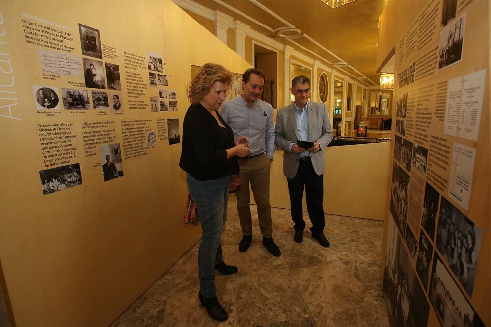 El Principal acoge una exposición sobre el director teatral alicantino José Estruch en ESCENA
