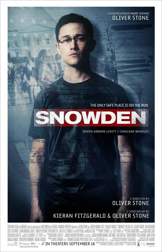 'Snowden', verdades terroríficas en CINE