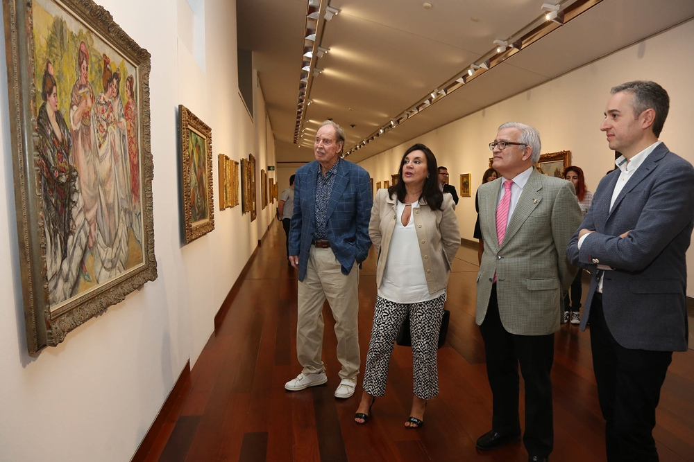 El MUBAG acoge una exposición de grandes pintores españoles de los siglos XIX y XX en PINTURA