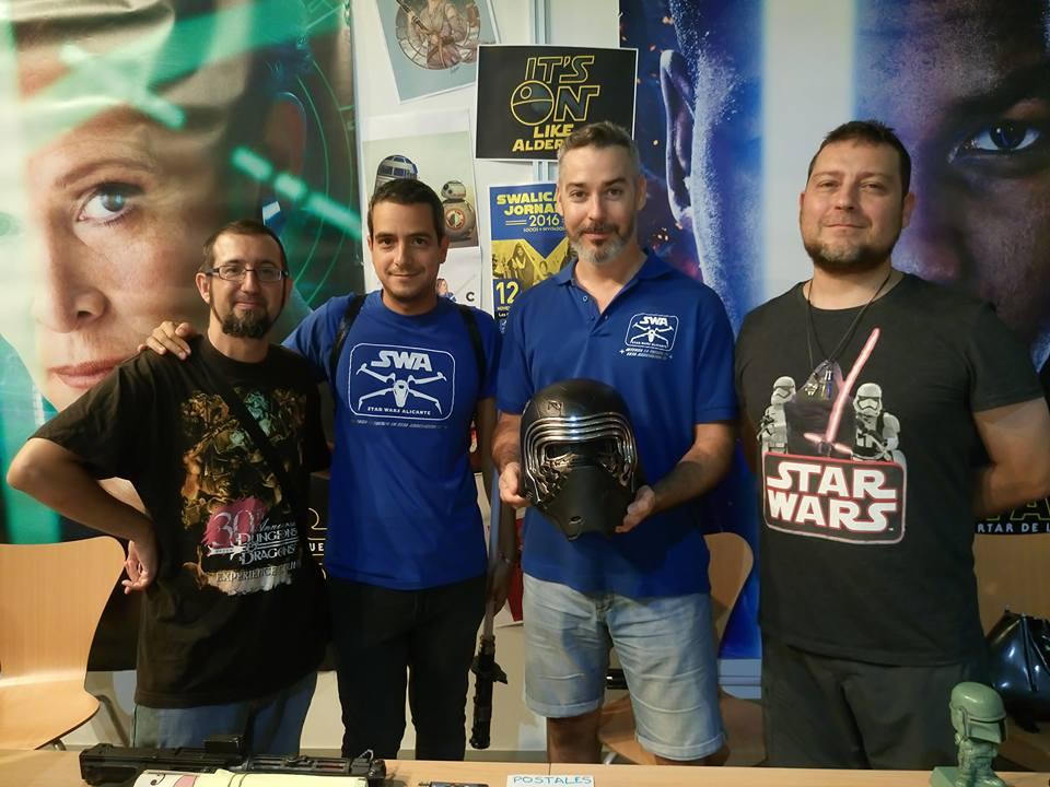 Las terceras Jornadas Star Wars Alicante aterrizan en Las Cigarreras en CINE CONFERENCIAS JUEGOS