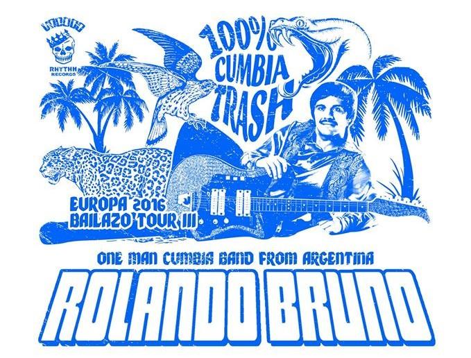 Vuelve el tropicalismo y la cumbia trash de Rolando Bruno y