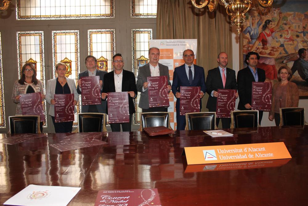 Nueva edición del Concierto de Navidad Rotary-UA a beneficio de Cáritas en MÚSICA
