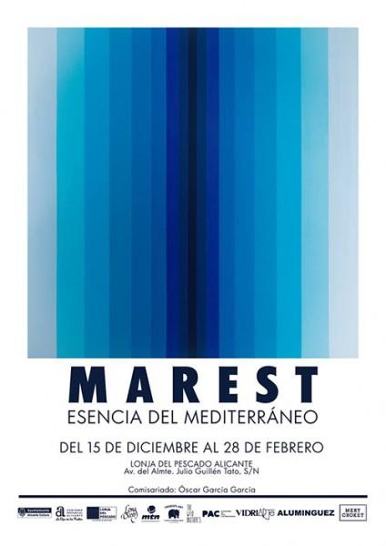 Antonyo Marest exhibe en la Lonja su 'Esencia del Mediterráneo' en PINTURA